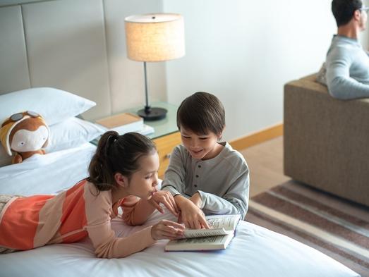 【M Passport Family Package】 <12歳以下のお子様連れ対象プラン>朝食付