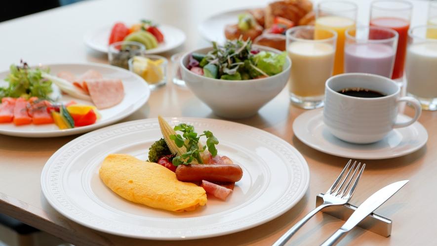 朝食(アメリカンブレックファスト)