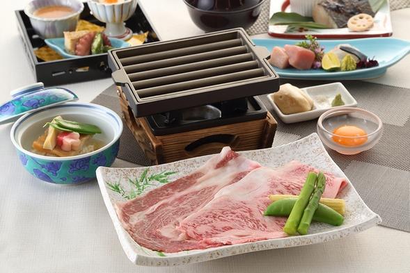 特選!【亀岡牛と神戸牛食べ比べ】旬の味覚を満喫!季節の京風創作会席(2食付)