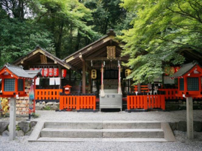 源氏物語 縁の神社 「野宮神社」