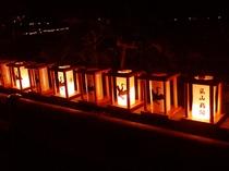 嵐山鵜飼いの灯り