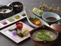 湯豆腐膳(夕食一例)/レストラン