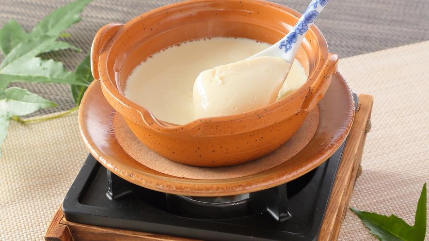 【朝食】お客様自身で豆乳からつくる出来立て豆腐