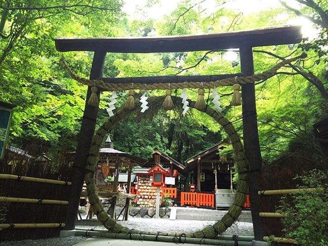 【野々宮神社】夏越の祓 茅の輪