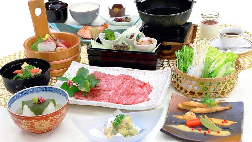 神戸牛すき焼き会席