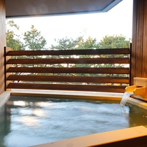 【特別フロア】 専有露天風呂付客室 TypeE (喫煙タイプ一例※客室により異なります)