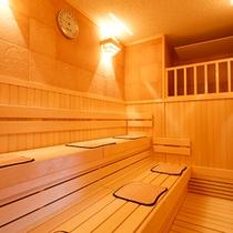 【温泉大浴場 庭の湯】サウナ