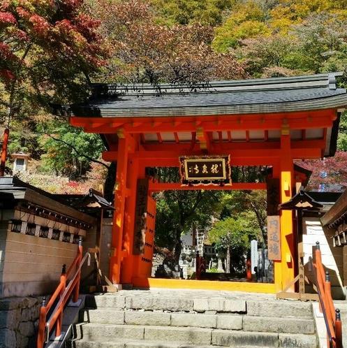 秋の龍泉寺