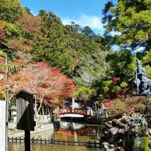 秋の龍泉寺.