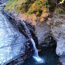 みたらい渓谷 滝