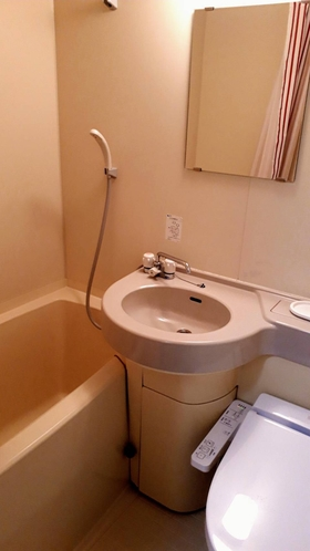 【2階】ユニットバス・洗面・温水付トイレ