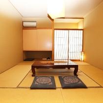 02 [8帖和室] はづき(1):シンプルで落ち着く部屋
