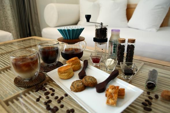 【夏割】お部屋で自分だけのカフェ☆全室オーシャンビュー&駐車場無料/朝食付