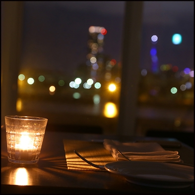 1泊夕食付【French Dinner コース 「Munu Chef」付】夜は海辺のレストランで
