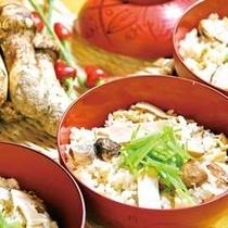 松茸ご飯(正方形)