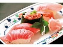 厳選トロ寿司5種