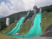 ジャンプ競技場