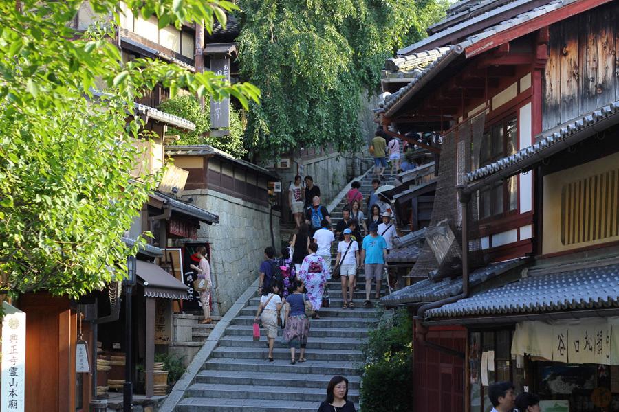 三寧坂の風景(歩8分)