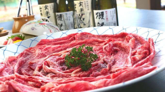 黒田庄牛の黒毛和牛のしゃぶしゃぶ♪常温で溶けてしまうくらい上質な脂をお楽しみください♪