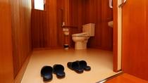 バリアフリー対応のトイレです【8人用コテージ】