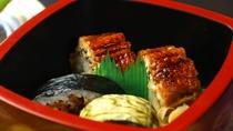 【グレードアップ会席】季節の食材を使用したお寿司