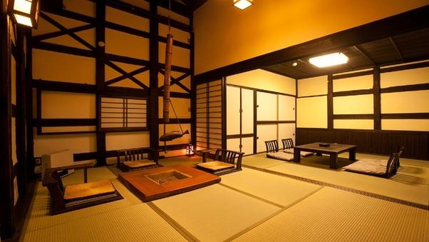 江戸時代建造の蔵を改装した内湯付き離れ【松陰】1泊2食付