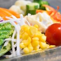 こだわりのフレッシュ野菜/12階レストランG