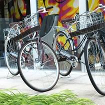 【レンタサイクル】新宿周辺の散策・観光にご活用ください。