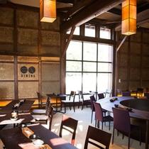 創業400年。老舗酒造場の発酵蔵を開放感あふれるフレンチレストランに。