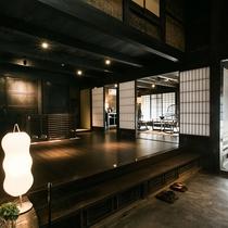 【楠(くすのき)】1~6名 自邸のような寛ぎと開放感あふれる空間