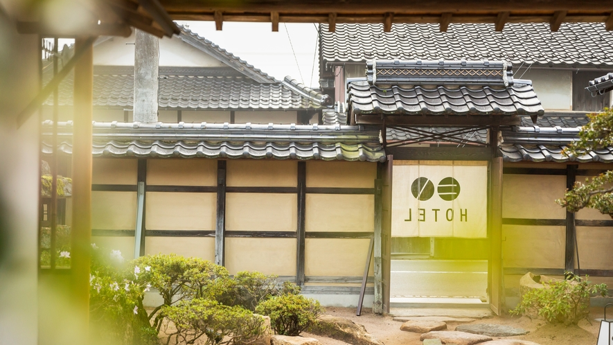 城下町でも400年の深い歴史をもつ木村家。贅を尽くした日本建築は国登録有形文化財に登録されています。