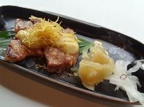 豚肉の西京漬け 柚子味噌かけ