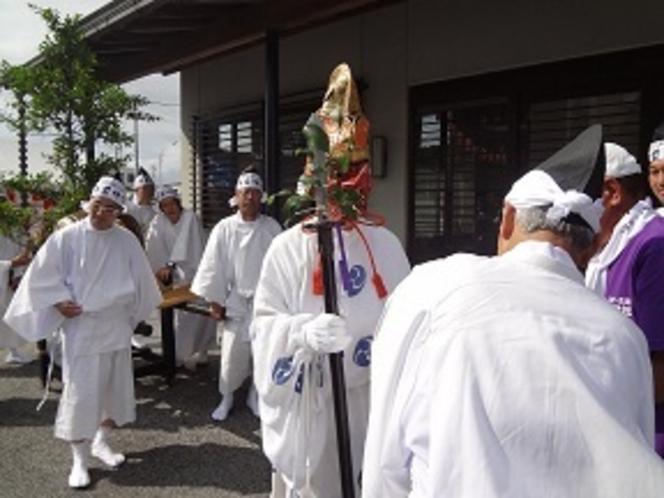 9月13日玉前神社神幸祭 上総十二社祭り
