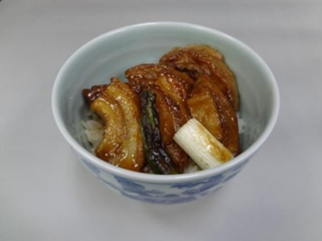 精進懐石 蒲焼風丼