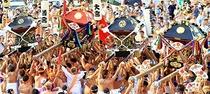 玉前神社大祭 釣ヶ崎に十二社集まります