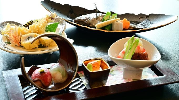 【グレードアップ】夕食をちょっと贅沢に!瀬戸内の旬を満喫<個室食>