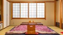 *【旧館】和室12畳・1フロア貸切:冬はこたつになります。