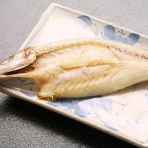 ☆料理_朝食_魚の干物