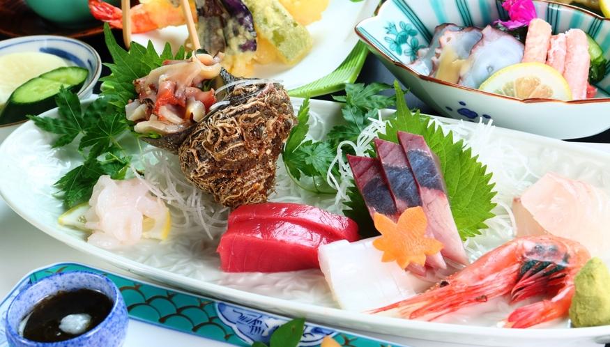 【お造りUP】季節のオススメ料理の会席料理