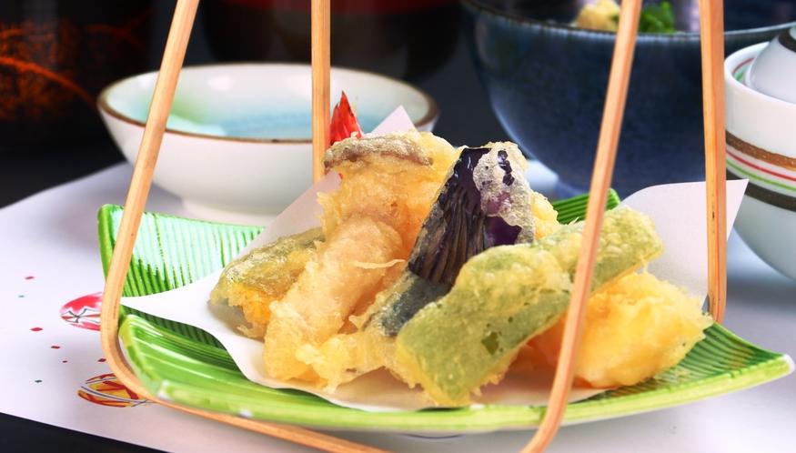【揚げ物】季節のオススメ料理の会席料理