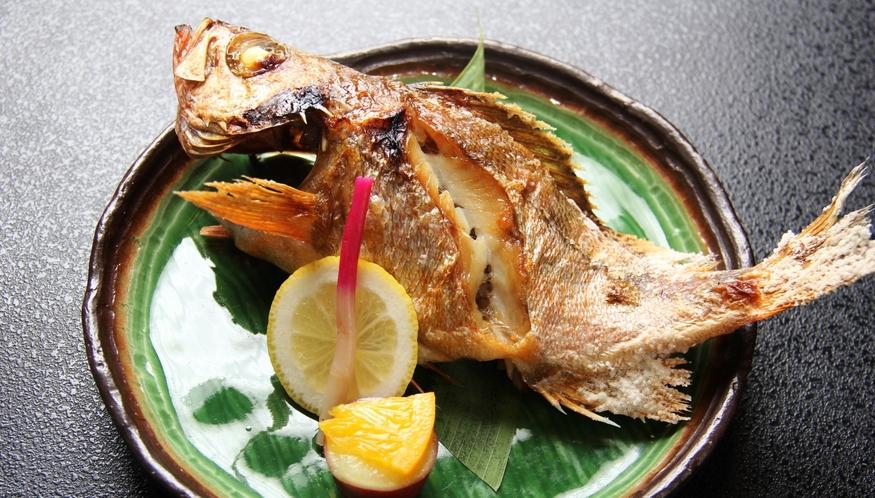【本日の姿焼】季節のオススメ料理の会席料理