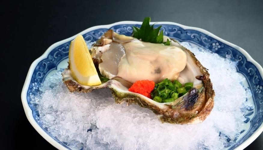 【岩牡蠣】季節のオススメ料理の会席料理