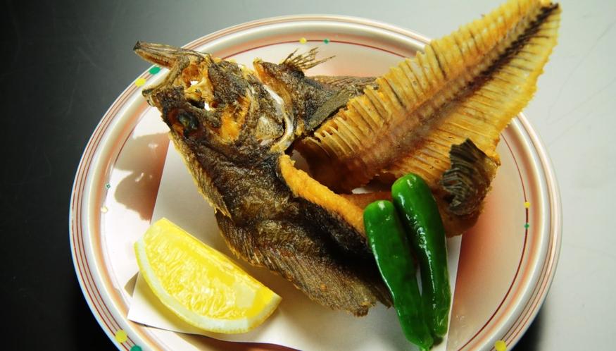 【本日の揚魚】季節のオススメ料理の会席料理
