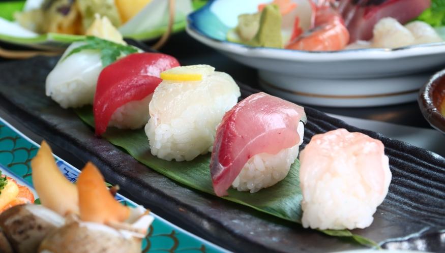 【お寿司】季節のオススメ料理の会席料理