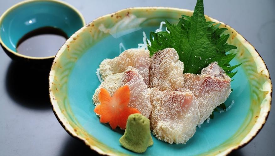 【鱈のたらこ和え】季節のオススメ料理の会席料理
