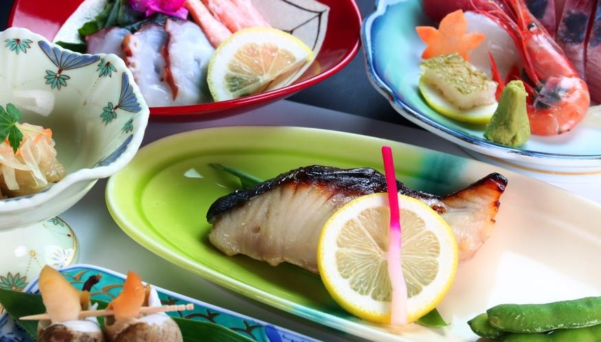【焼き物】季節のオススメ料理の会席料理