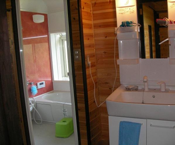コテージNo1 バスルーム