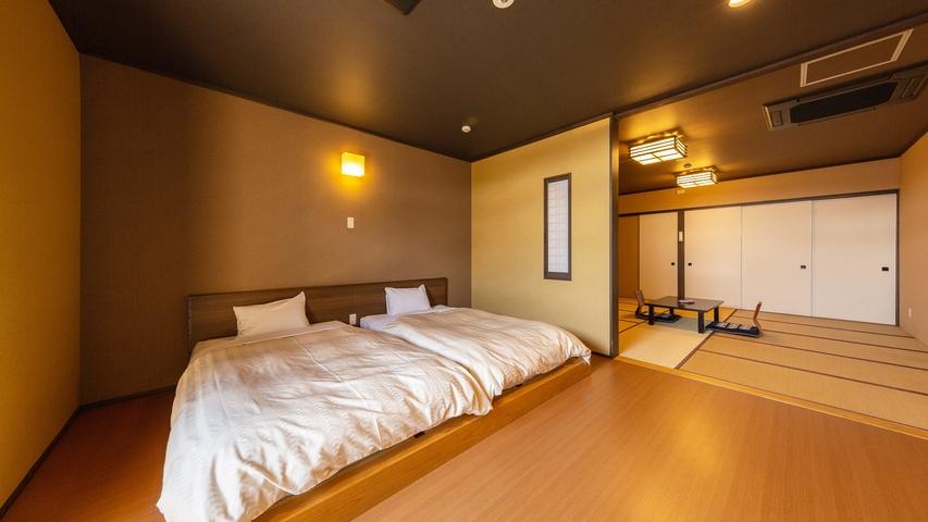 *【和室12畳一例】広々とした和室でごゆっくりお寛ぎください。