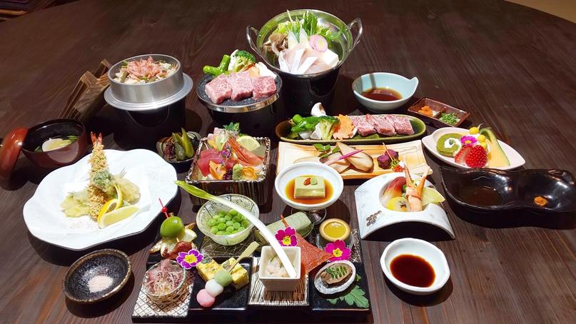 *【近江牛陶板焼付き】特別室限定の豪華懐石料理をお愉しみください。