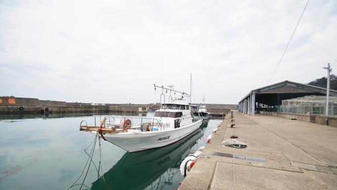 【素泊まり】漁港の宿に気軽に滞在☆釣りキチ集合in越前